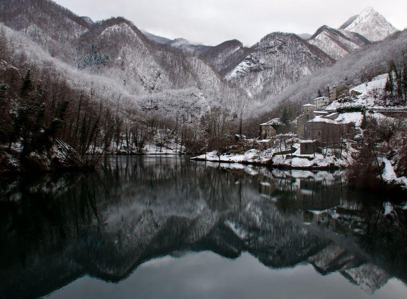 Inverno all'Isola Santa