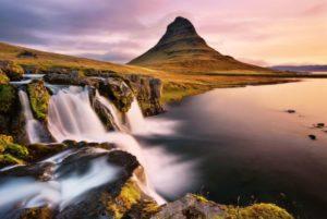 alba sul Kirkjufell (Islanda)