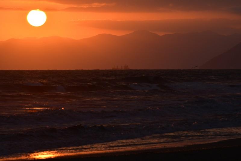 tramonto versiliese