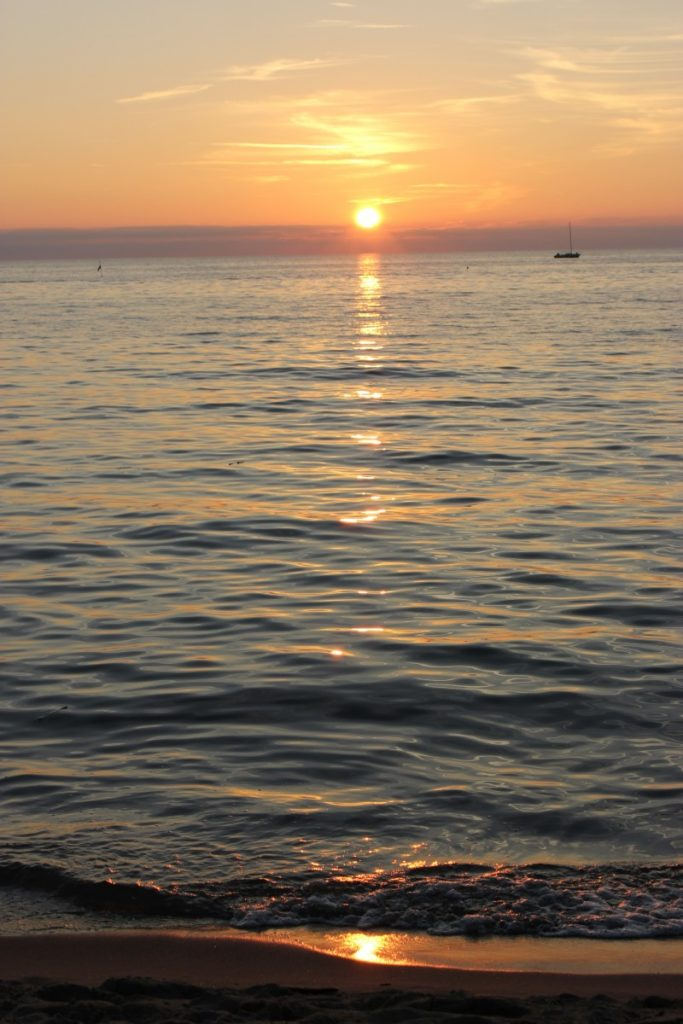tramonto d'agosto
