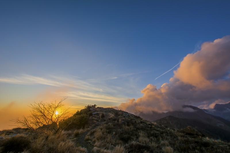 il sentiero verso il sole