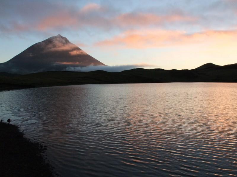 tramonto sul pico