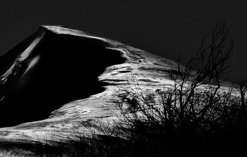 ombre e luci della montagna