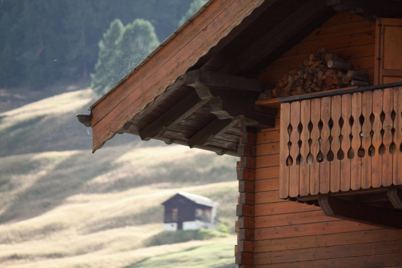 tetto spiovente di livigno