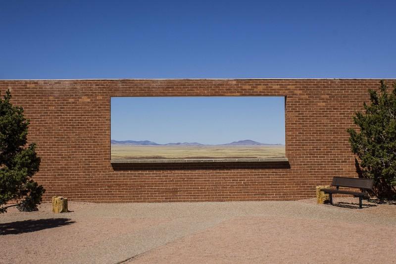 finestra sul deserto