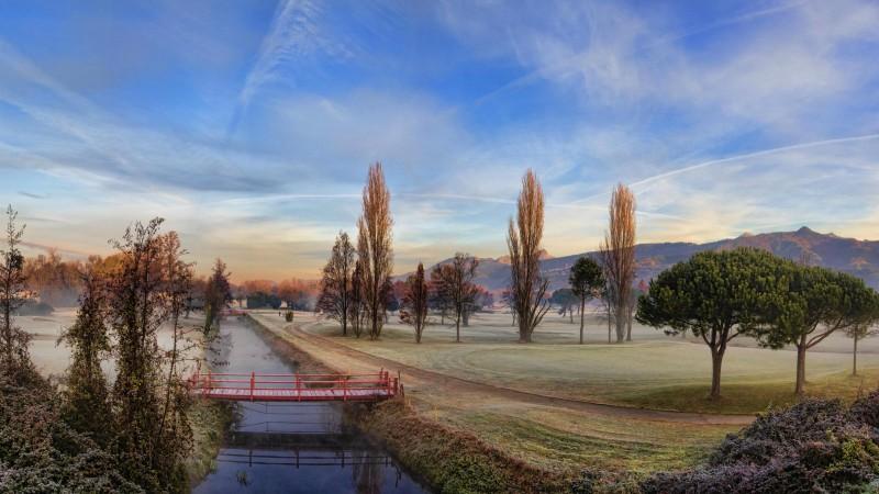 al golf d'inverno
