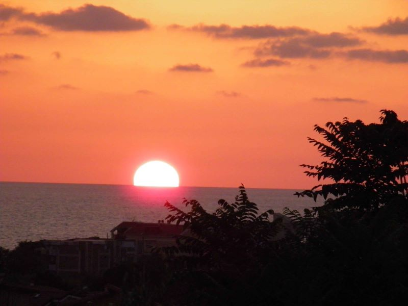 tramonto a falerna marina