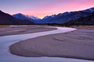 sinuoso corso del rio de las vueltas