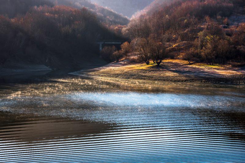 alba al lago del salto