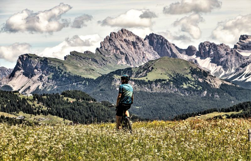 Alpe di Siusi in vetta